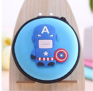 Cartoon-AVENGERS-Small-Mini-Coin-Bag-Mini-Coin-Purse-Change-Wallet-Purse-Key-Wallet-Headset-Package (5)