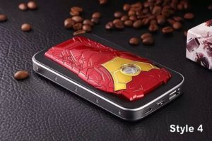 New-High-Quality-3D-Hero-Battery-external-emergency-Iron-Man-6600mAh-USB-power-bank-charger-for (3)
