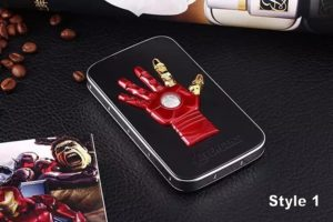 New-High-Quality-3D-Hero-Battery-external-emergency-Iron-Man-6600mAh-USB-power-bank-charger-for