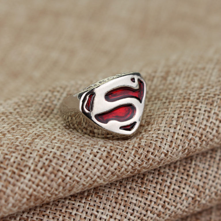 hot-sales-metal-cospaly-parties-superhero-superman-ring-s-justice-league-enamel-cocktail-ring-wholesale-men